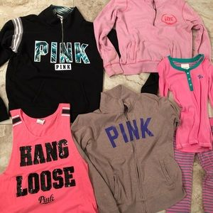 Pink Bundle and Gilly Hicks